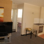 Huge TV in apartment