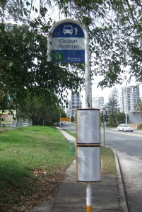 ocean-ave-bus-stop-sign